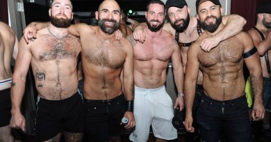 Dore, BigMuscle, and the Bare Chest Men