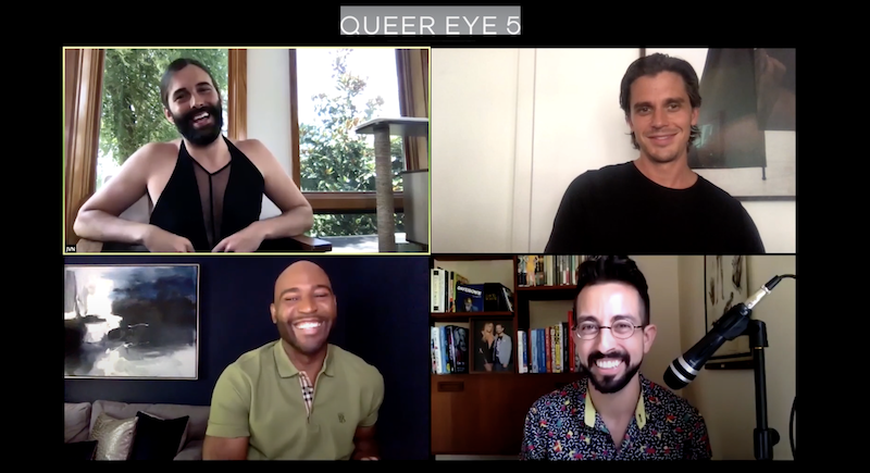 queer eye interview black lives matter